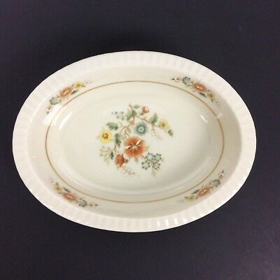 Lenox Temple Blossom Oval Casserole Vegetable Dish Bowl Fine China Discontinued Blossom Oval Vegetable Bowl