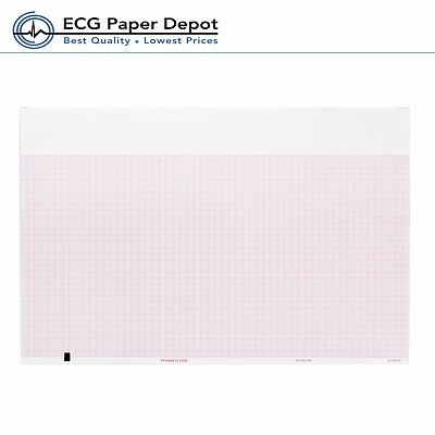 Ecg Ekg Recording Thermal Paper 8.50 X 183 Welch Allyn Compatible 10 Packs