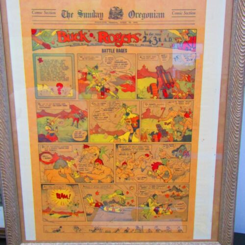 The Sunday Oregonian Comic Section 1932 Framed