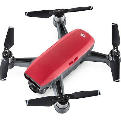 DJI Spark Drone - Lava Red - CRAFT + PROPS ONLY - USED