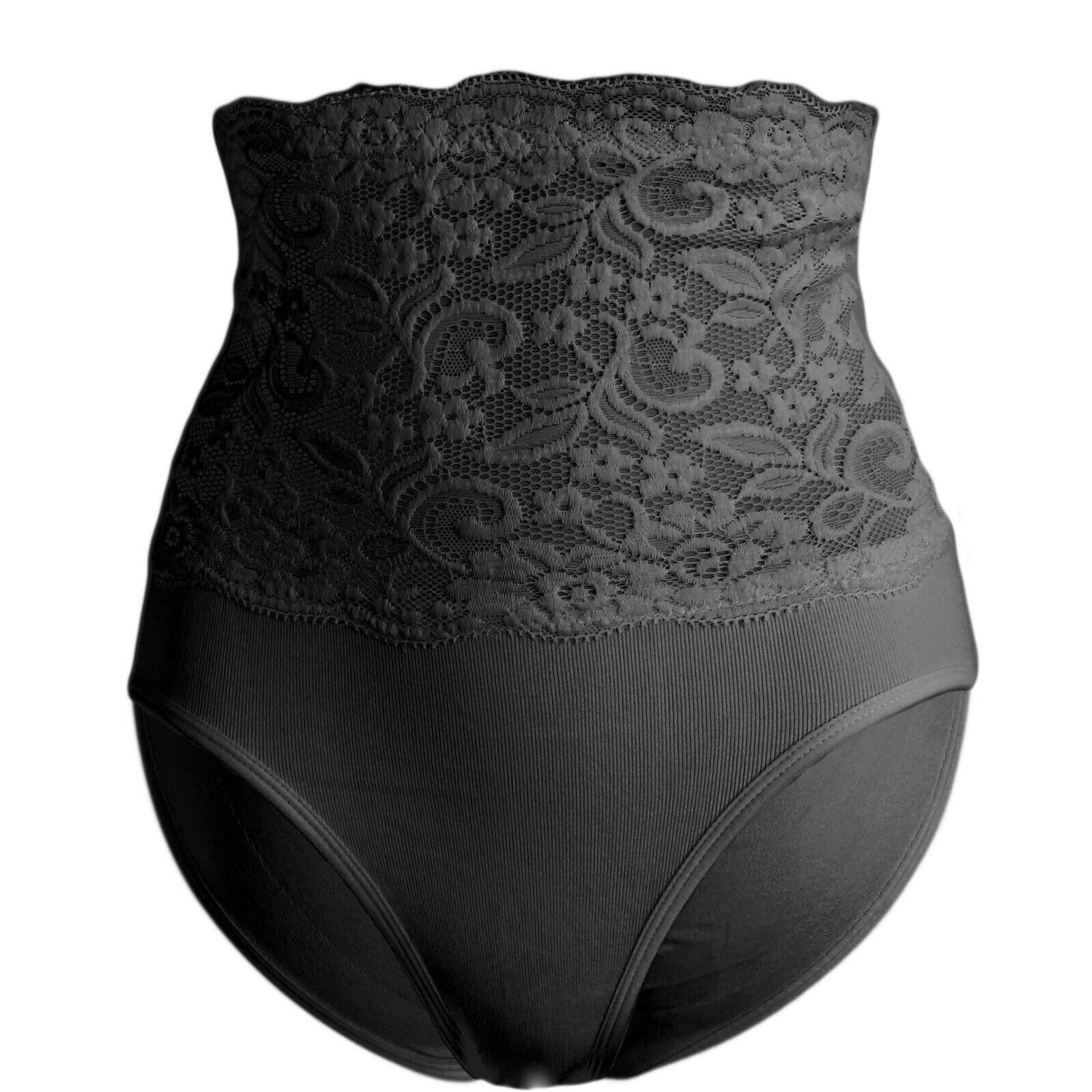Mieder Miederhose Shapewear Taillenformer Taillenslips Bauchweg Wäsche Spitze