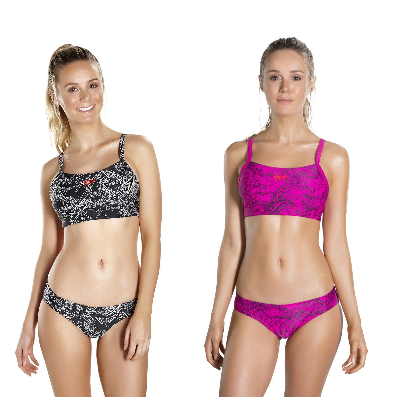 Bikini Speedo Damen Frauen Zweiteiler 2-Teiler Endurance 10 Badeanzug Bademode