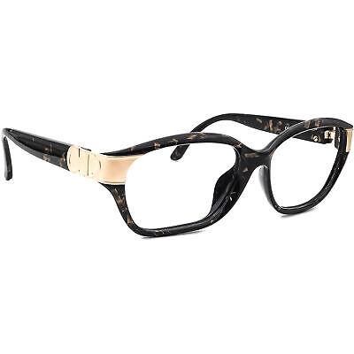 Christian Dior Sunglasses Frame Only 2906 91 Black & Matte Gold Austria 57 mm