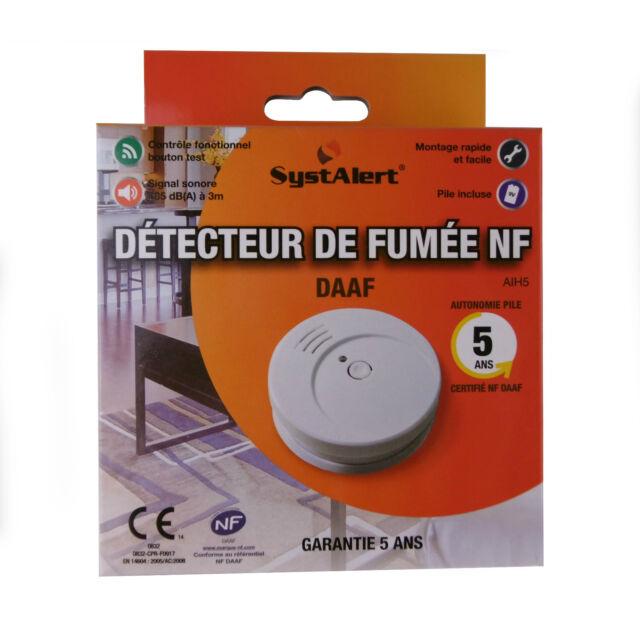 Rauchmelder Rauchwarnmelder nach DIN EN14604 Brandmelder Feuermelder NEU OVP