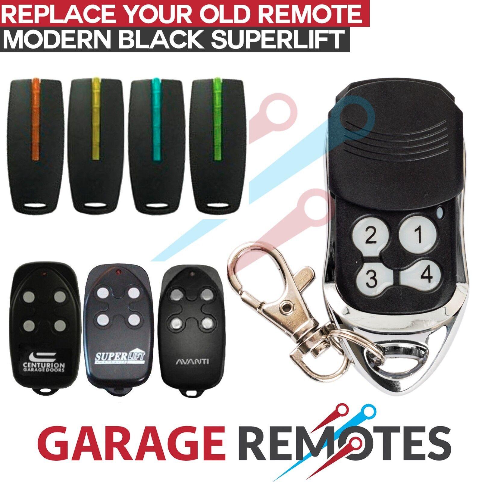 4 x Avanti//Centurion Garage Door Compatible TX4//MPS//DPS//SDO21 Remote T Series