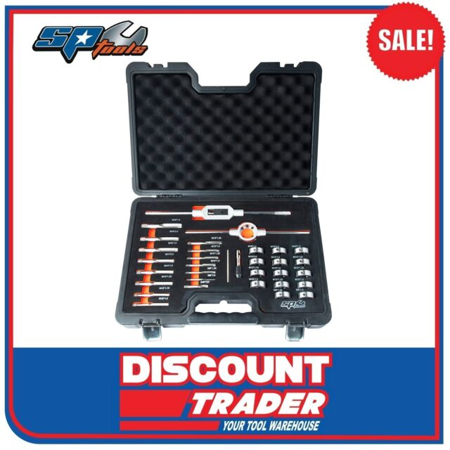 sp tools 32 piece metric tap u0026 die set sp31100