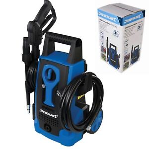 Silverline Electric Pressure Washer Power Jet Wash Garden Patio Home Car 1400W
