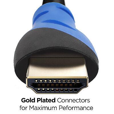 LONG 25FT HDMI Cable Compatible w/ HDMI 2.0/1.4 - UHD 4K HDR 3D 1080p 2160p ARC