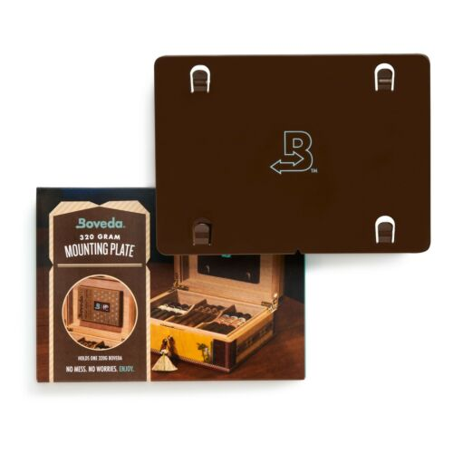 Boveda Mounting Plate for Humidor | Use with One (1) Size 320 Boveda | 1-Count