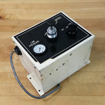 Lapmaster Unknown Model Number Updown Pneumatic Control Box 0-30 Psi. - Used