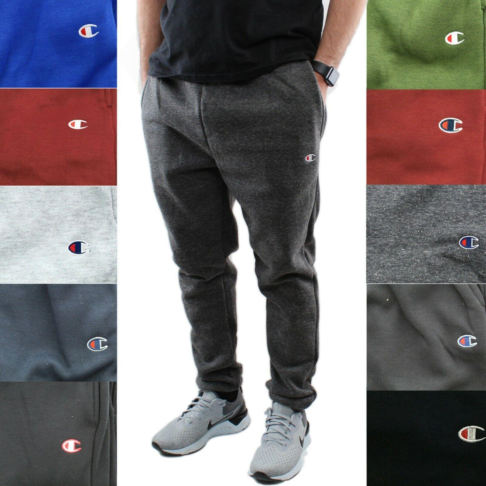 Champion Fleece Joggers Sweatpants Men's Athletic Activewear