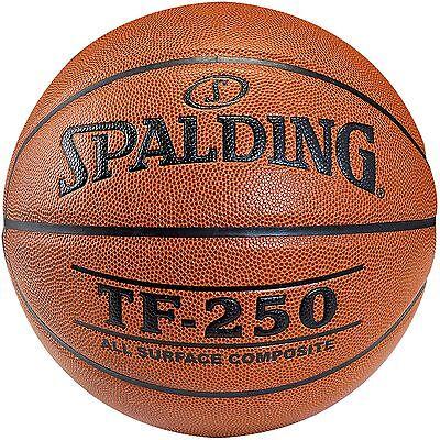 SPALDING TF 250 Basketball Composite Leder Gr. 7