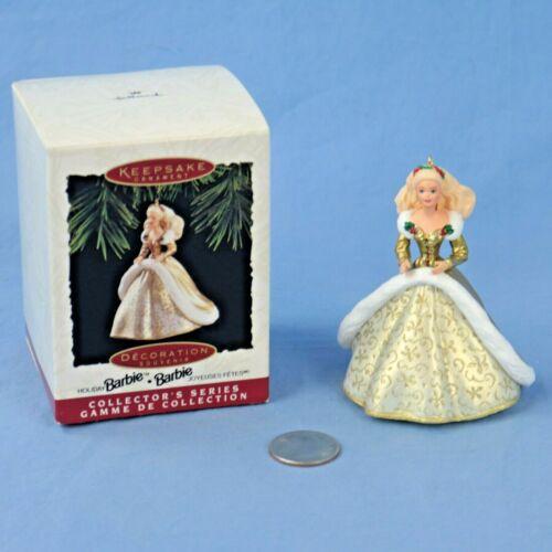 Hallmark Holiday Barbie #2 Keepsake Ornament in Original Box NOS