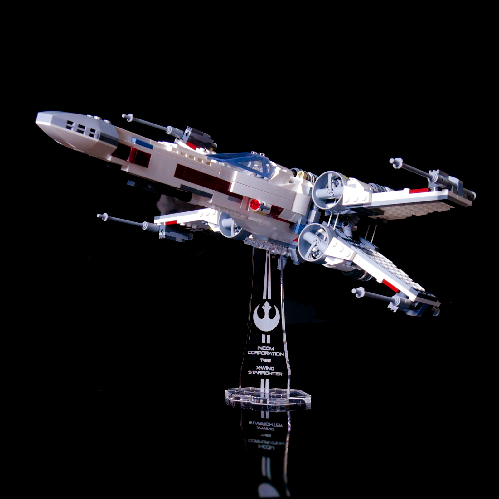 75218 Display stand for LEGO Star Wars X-Wing Starfighter