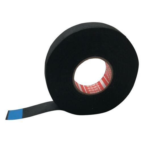 "TESA OEM Adhesive Cloth Fabric Exterior Loom Harness Tape High Temp 3/4"" x 82"