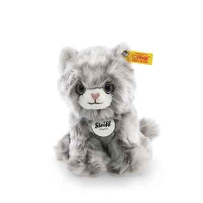 STEIFF Katze Minka grau sitzend 17 cm NEU