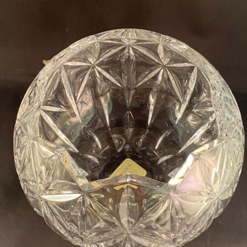 """Rose Bowl CRYSTAL  Shooting Star by Lenox 8"""" NEW W/Out Box"""