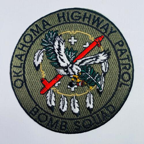 Bomb Squad Oklahoma Highway Patrol Patch