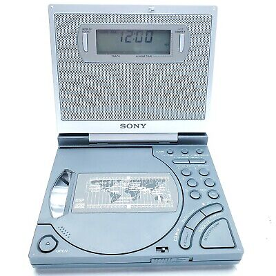 Sony ICF-CD2000 Dream Machine CD Clock FM/AM Radio w/ Backlit Display works