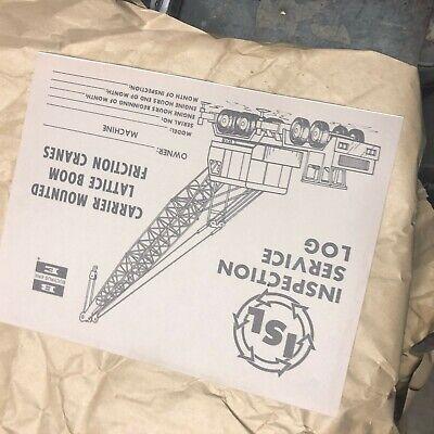 Bucyrus-erie Shovel Crane Excavator Inspection Carrier Bucyrus Erie