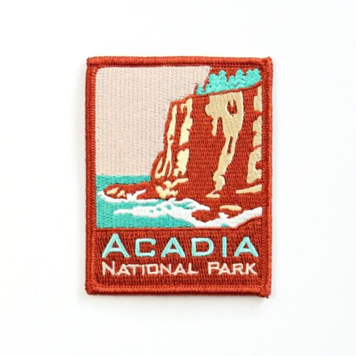Official Acadia National Park Souvenir Patch ANP Series Maine Iron-on NPS