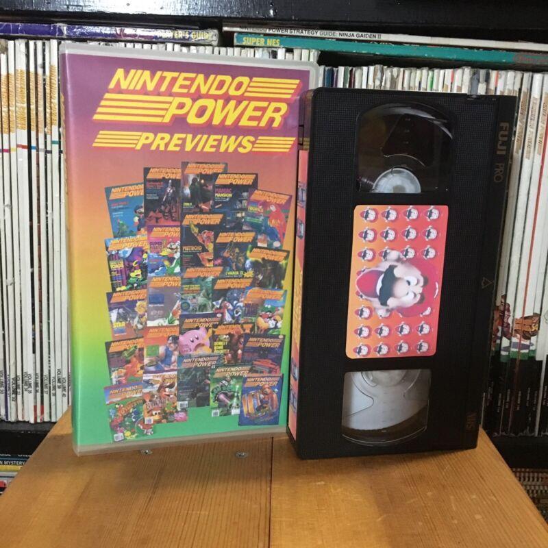 Nintendo Power Previews VHS
