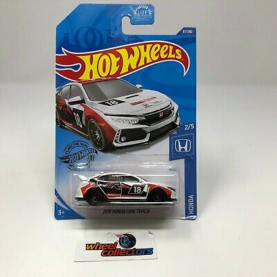 2018 Honda Civic Type R #81 * WHITE * 2020 Hot Wheels Case J * B31