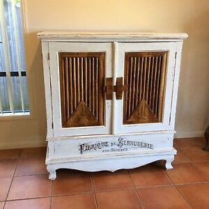 Shabby Chic Armoire Sewing Quilting Craft Cabinet Upper Coomera Gold Coast North Preview