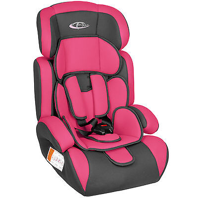 Autokindersitz Autositz Autokindersitze Kinderautositz 9-36 kg 1+2+3 pink wow
