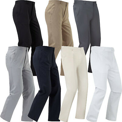 FootJoy Mens Trousers Performance Athletic Fit Straight Leg Golf - Mens Golf Trousers
