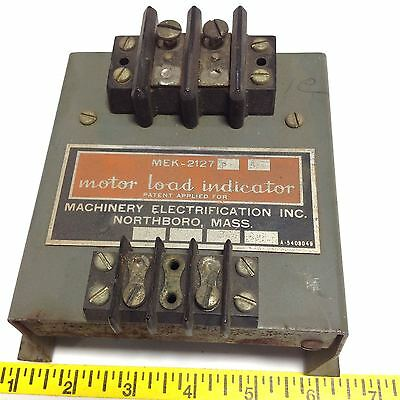 Machinery Motor Load Indicator Mek-2127 102542