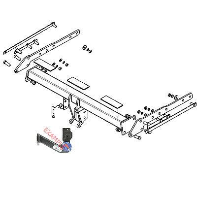 Flange Towbar for Ford S-Max MPV 2006-2015 Tow-Trust TF176 inc Titanium X Sport