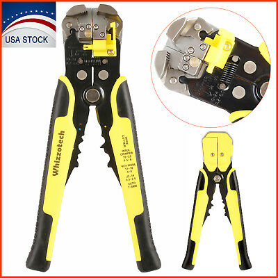 Self-adjusting Cable Cutter Crimperautomatic Wire Stripping Toolcutting Pliers