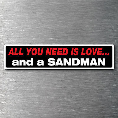 All you need is a Sandman premium 10 year vinyl waterfade proof Holden