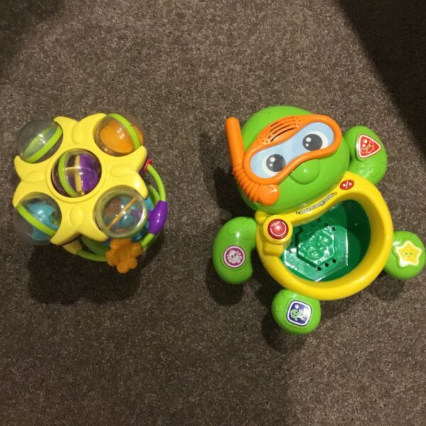 BATH TOY FROG NEW AND SUCTION TABLE TOY IN NEW CONDITION ...