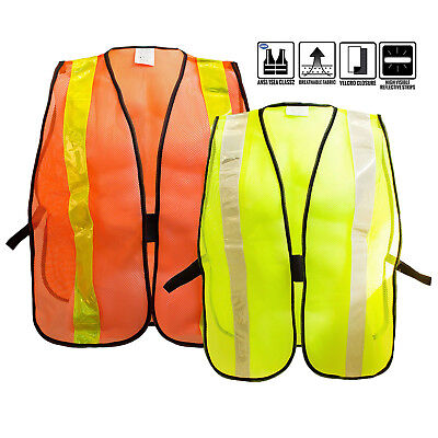 Safety Vest With Reflective Stripes For Construction And Traffic Safety -801112