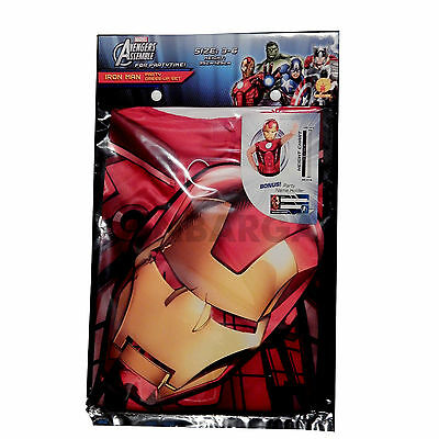 Avengers Assemble Ironman Superhero Boys Party Costume Kit Dress-Up & Mask Cheap (Iron Man Costume Cheap)