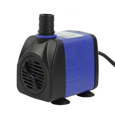 160 GPH Submersible Aquarium Water Pump Fish Tank Powerhead Fountain Hydroponic