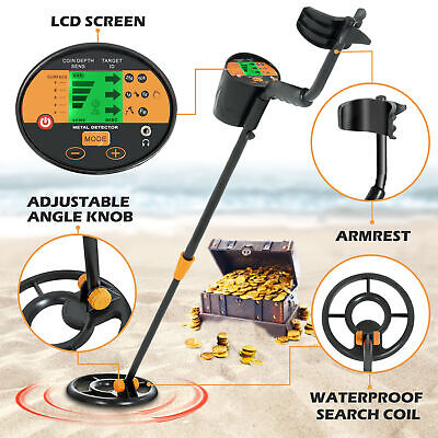 Waterproof LCD Metal Detector Gold Digger Deep Sensitive Hunter Search Coil New Metal Detector
