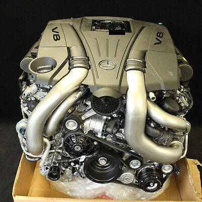 Orig. Neuwertig Mercedes Benz SL500 S500 Motor 278.927 320kW 435PS NUR 500KM