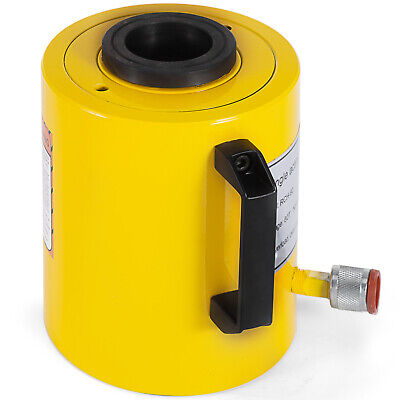 60 Tons 250mm Stroke Single Acting Hollow Ram Hydraulic Cylinder Jack