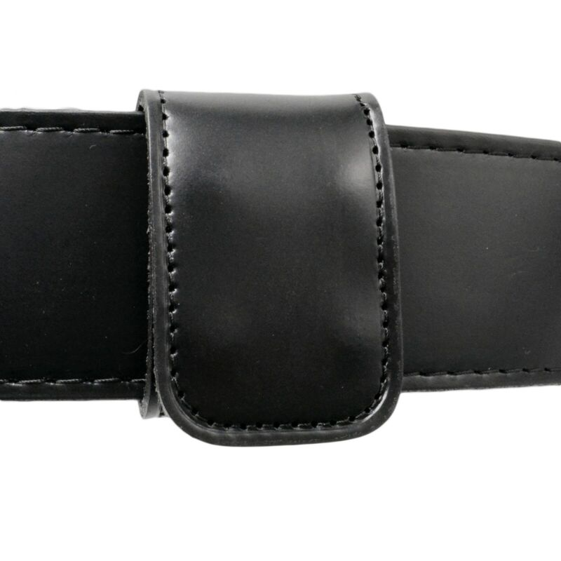 Perfect Fit Double Wide Belt Keeper Hidden Snap Genuine Leather USA Stabilizer