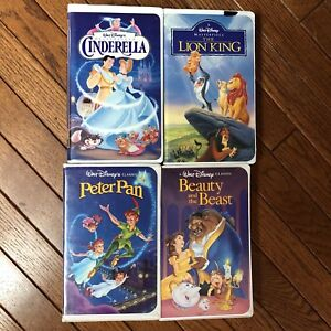 Kids Disney VHS Tapes - 5$ total to take all