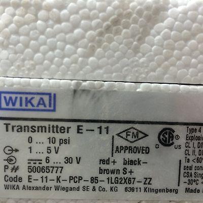 Wika E-11 0-10 1-5v Transmitter