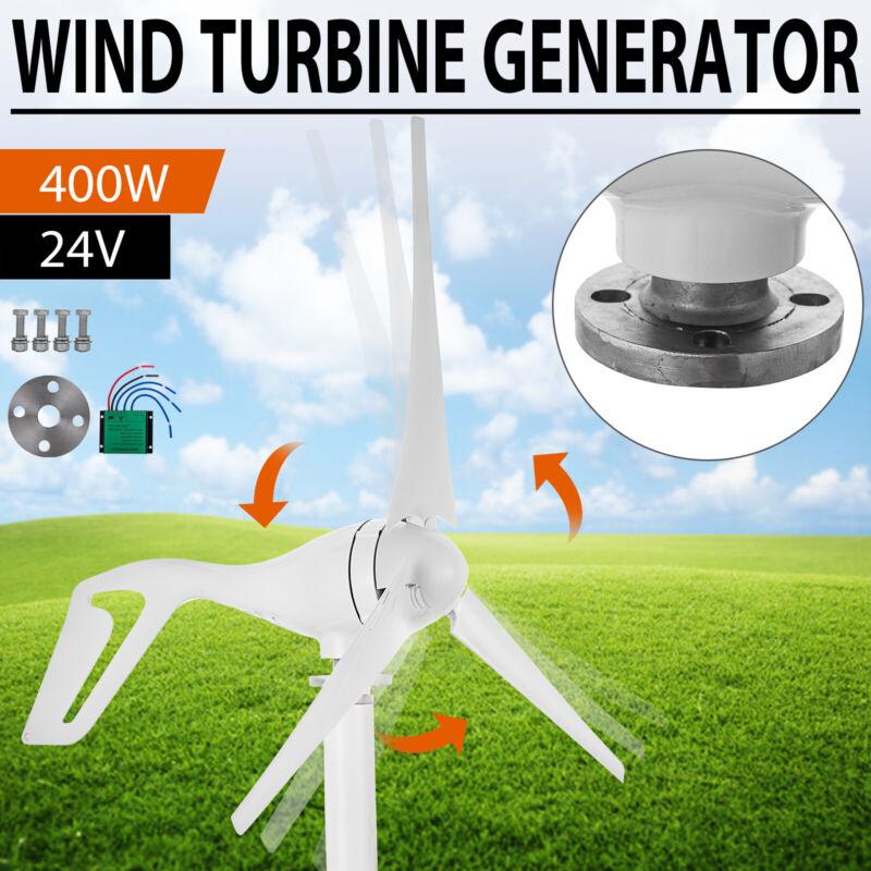 400W Hybrid Wind Turbine Generator Hybrid Charger Controller Home Power 24V DC