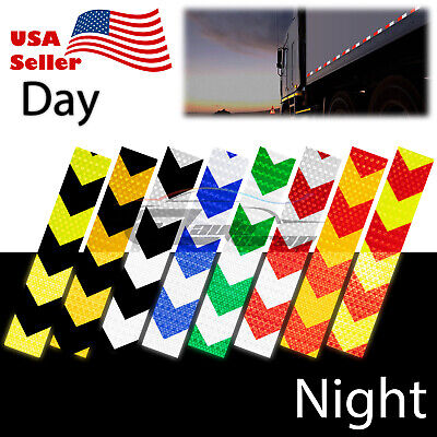 Dot-c2 Conspicuity Arrow Reflective Tape 1 Footstripe Safety Warning Trailer Rv