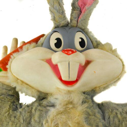 MATTEL Bugs Bunny Toy Voice Box Talking Plush Doll Pull String Vinyl Face