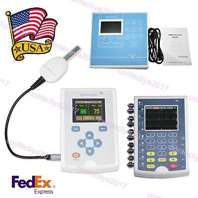 Contec Simulator Spo2 Nibp Ecg Patient Simulationdevice Accuracy Tester Usa