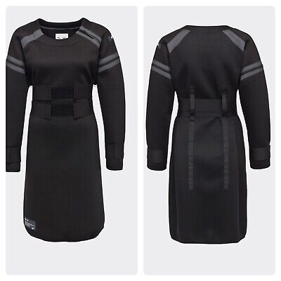 PUMA x UEG Comic Neoprene Dress Black Size XL Athleisure Collaboration Runway