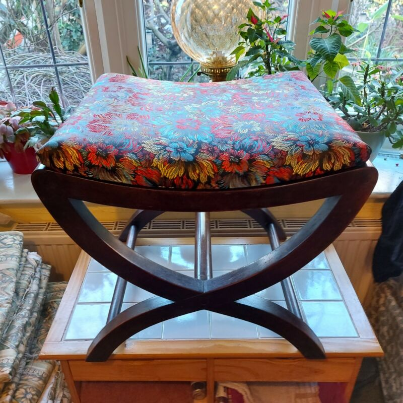 Lovely  Antique  X Stool